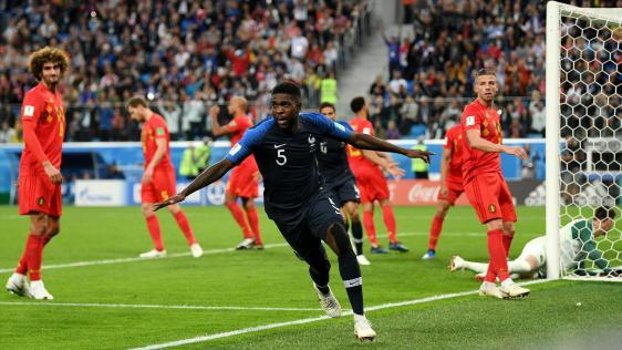 Image result for pic of france beat belgium