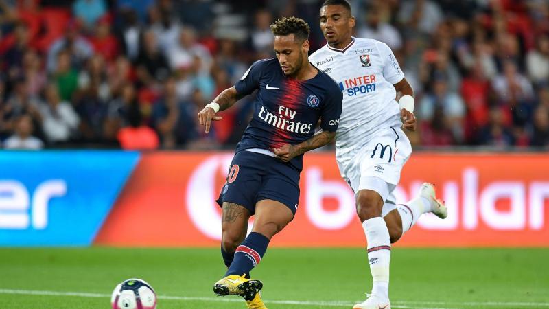 Neymar pour son premier match de la saison de Ligue 1 avec le PSG