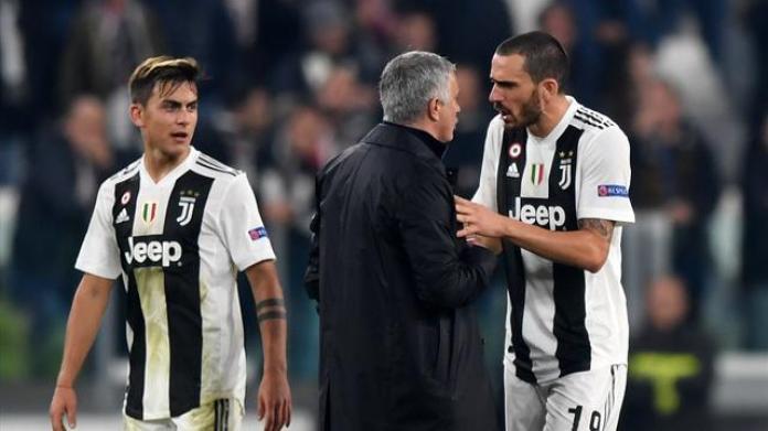 LDC: Mourinho s'explique sur son geste de provocation devant les supporters de la Juve