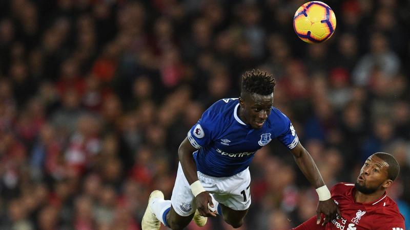 Idrissa Gueye avec Everton - 2019