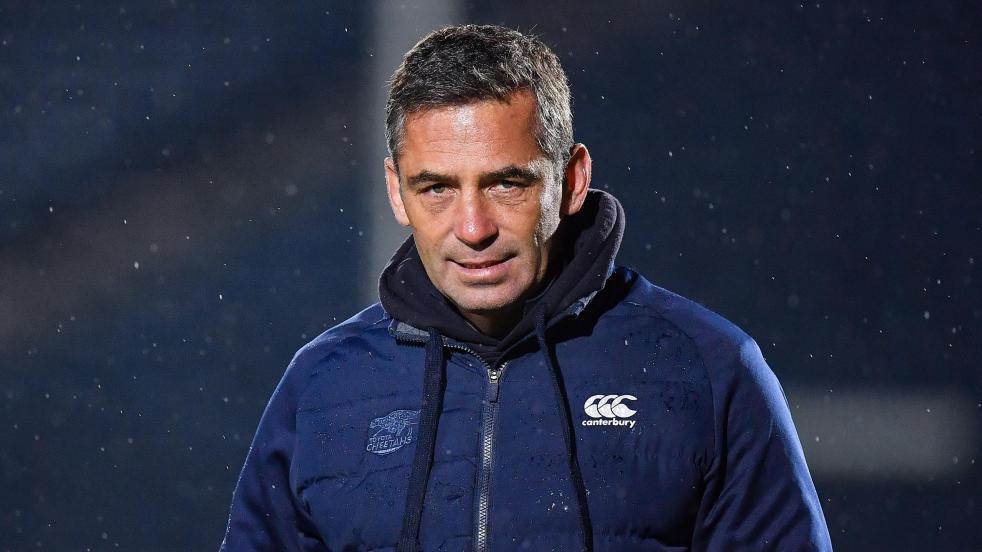 Franco Smith, prossimo allenatore dell'attacco dell'Italia. Potrebbe diventare anche CT dell'Italrugby? Foto: Getty Images.