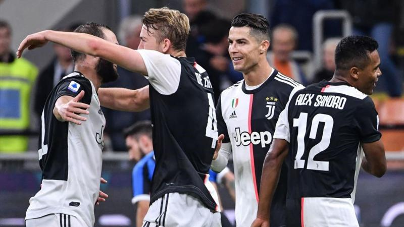 Higuain, de Ligt, Ronaldo, Alex Sandro - Inter-Juventus - Serie A 2019/2020 - Getty Images