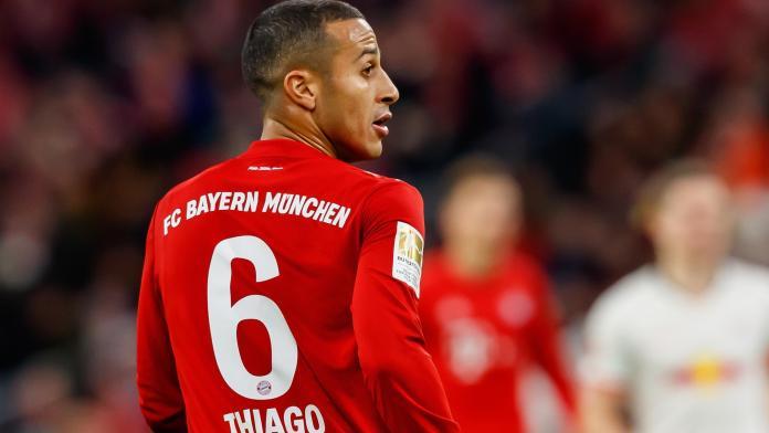 Thiago Alcantara mulling over Bayern Munich future amid Liverpool ...