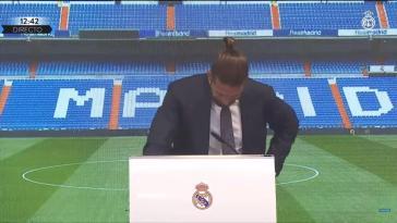 """Les larmes de Ramos : """"C'est un des moments les plus difficiles de ma vie"""""""