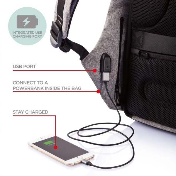 XD Design Bobby Anti-Theft Backpack (Black) - EXPANSYS ...