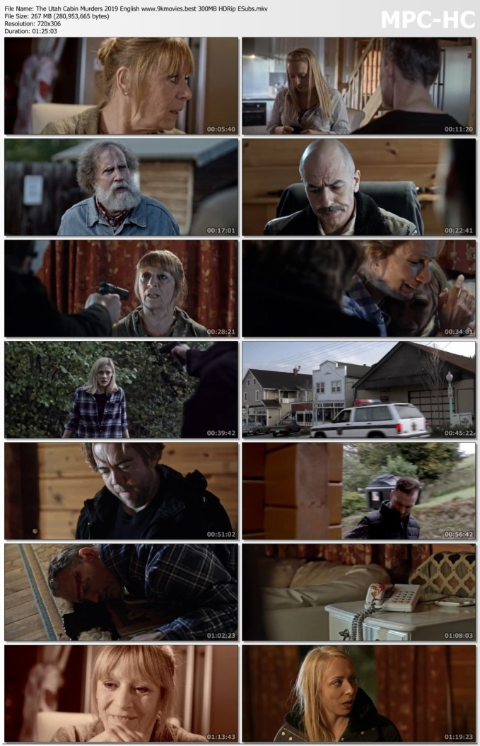 Download Film The Utah Cabin Murders 2019