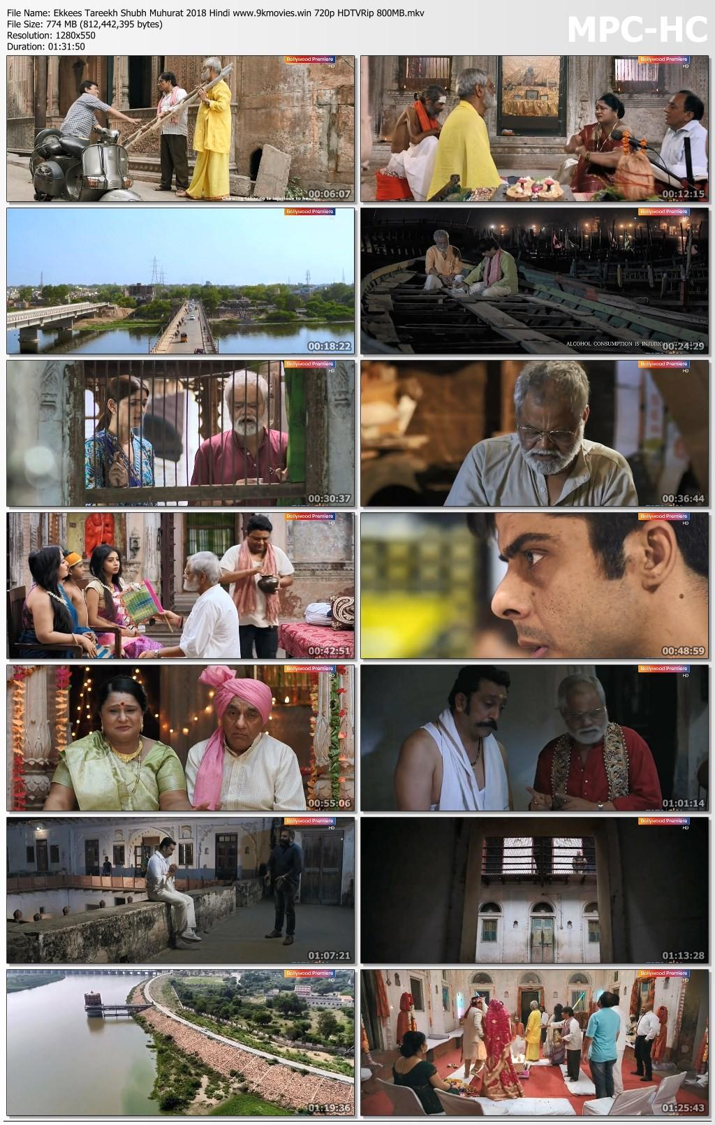 Ekkees Tareekh Shubh Muhurat 2018 Hindi Movie 300MB HDRip