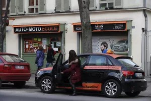 Located near the Porte d'Italie, OER saves its students from spending time in traffic. © Sébastien SORIANO / Le Figaro