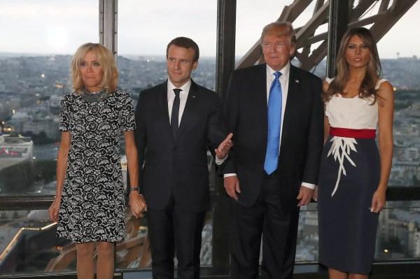 Donald Trump a-t-il manqué de respect à Brigitte Macron