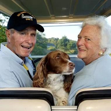 Barbara Bush et George H. W. Bush