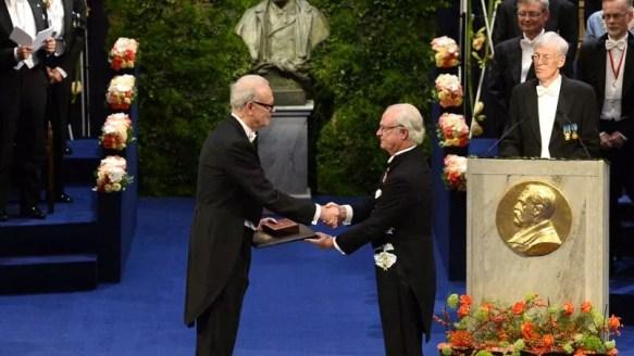 Вручение Нобелевской премии.