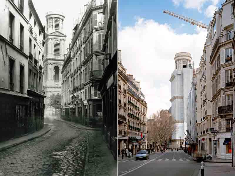 Paris Avant Et Aprs Haussmann