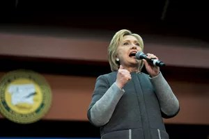 Hillary Clinton en Virginie le 29 février.