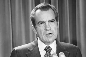 Richard Nixon, le 17 février 1