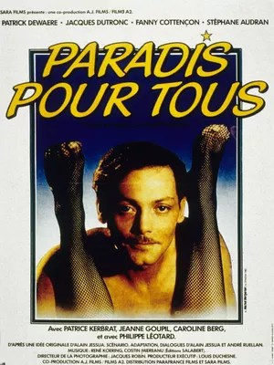 L'affiche de «Paradis pour tous» (1982)