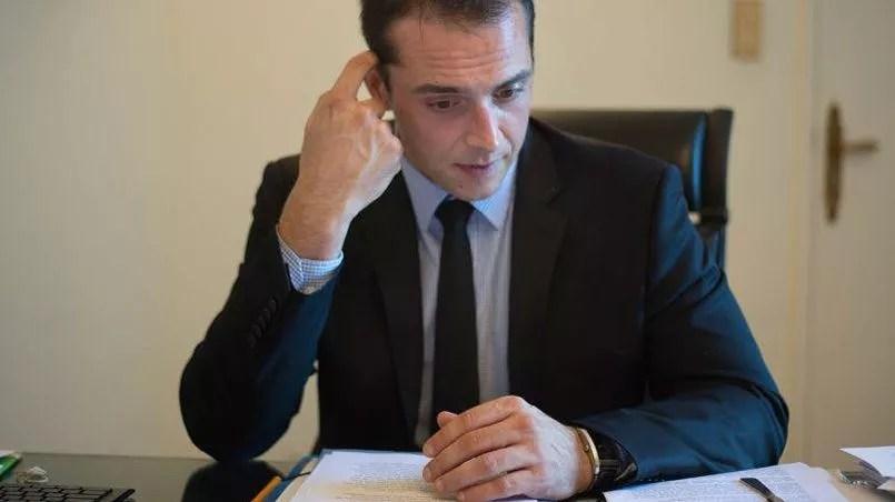 Joris Hebrard, le maire FN du Pontet