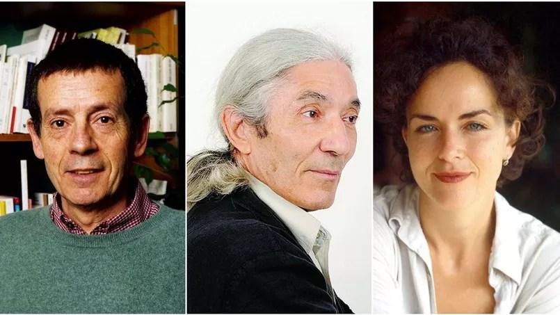 Hédi Kaddour, Boualem Sansal et Agnès Desarthe sont les 3 finalistes du Grand Prix du roman de l'Académie française.