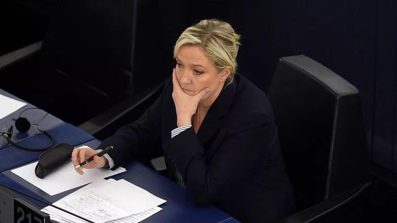 L'eurodéputée FN Marine Le Pen.