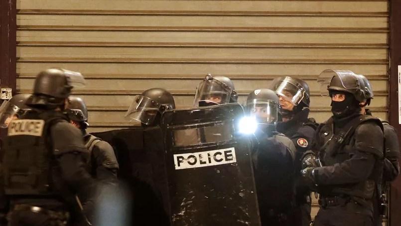 Les forces spéciales de Police à Saint-Denis ce jeudi 18 novembre 2015.