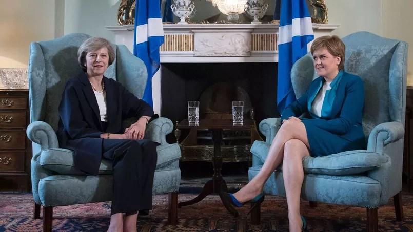 Theresa May et Nicola Sturgeon, le 15 juillet 2016.