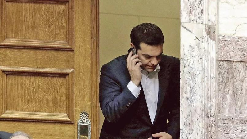 Dans l'entourage du premier ministre grec, le malaise est palpable.