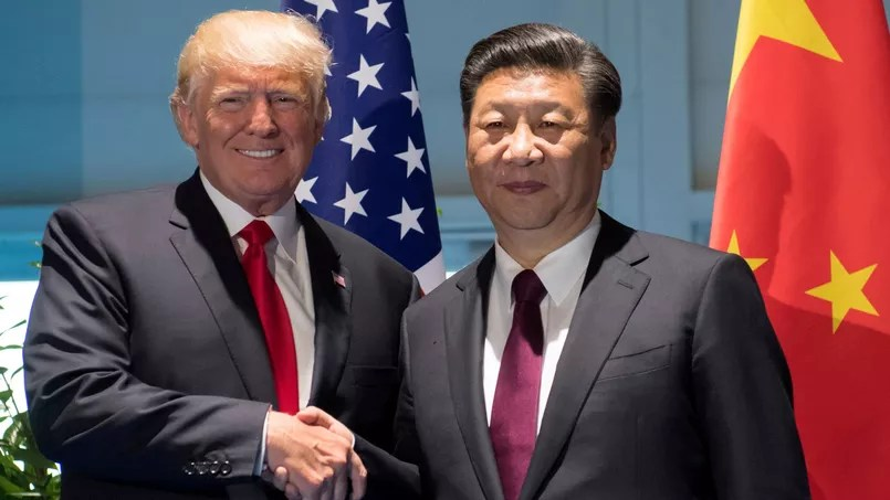 Donald Trump et Xi Jinping lors du dernier G20 à Hambourg en juillet.