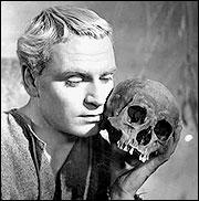 Sir Lawrence Olivier as Hamlet