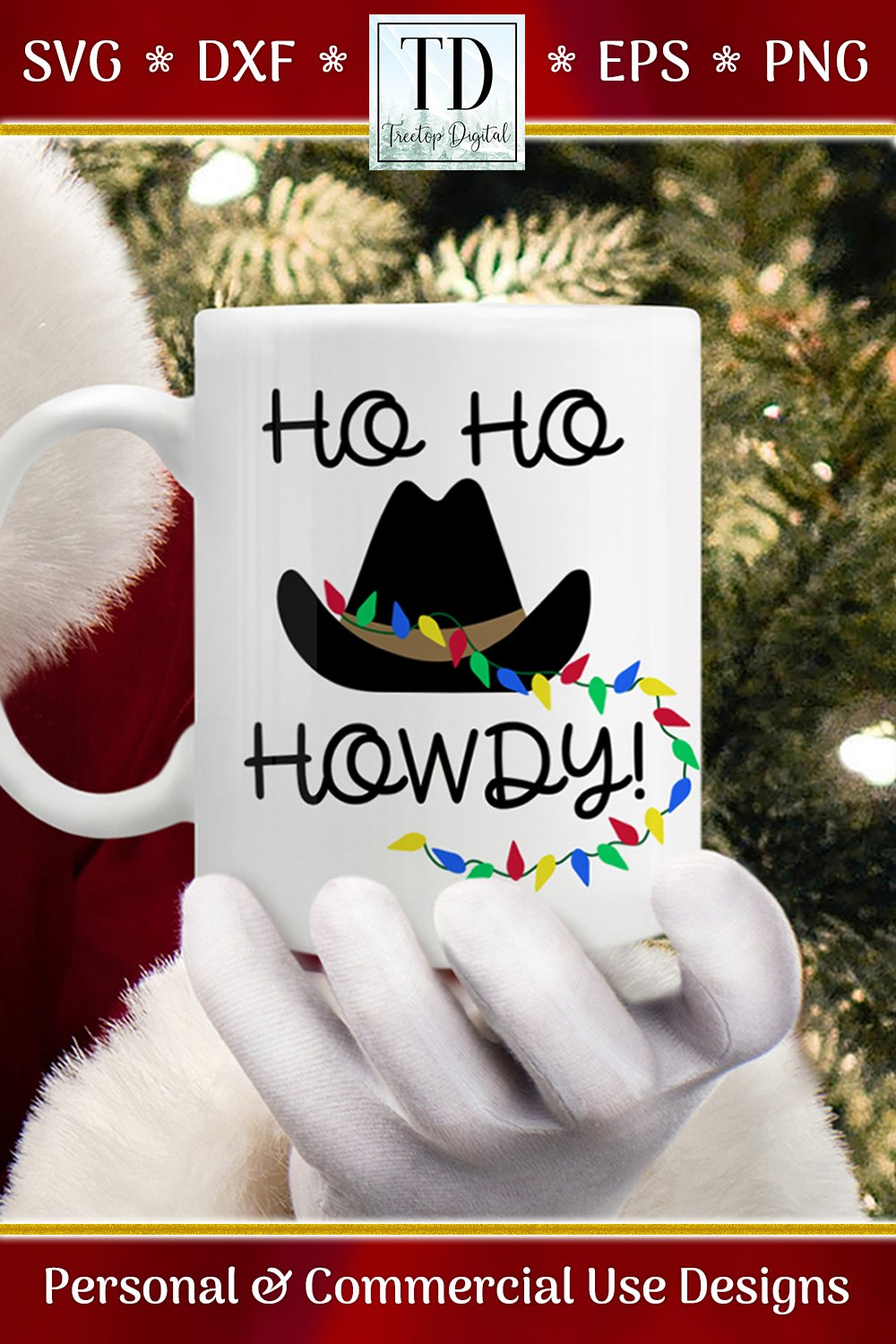 Download Ho Ho Howdy! A Christmas Texas Country Western SVG (299879 ...
