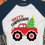 Christmas Truck Png Monster Truck Svg Merry Christmas Dxf 1090963 Cut Files Design Bundles