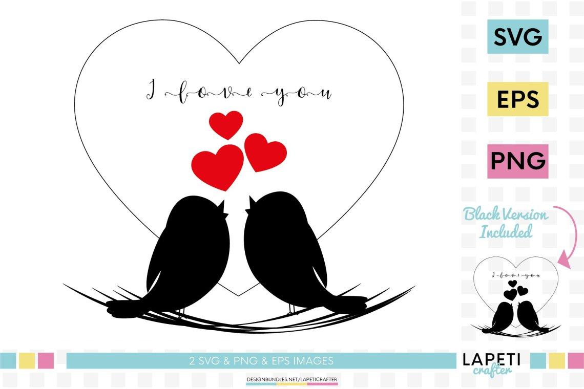 Download Love birds clipart, birds in love svg, Valentines Day svg ...