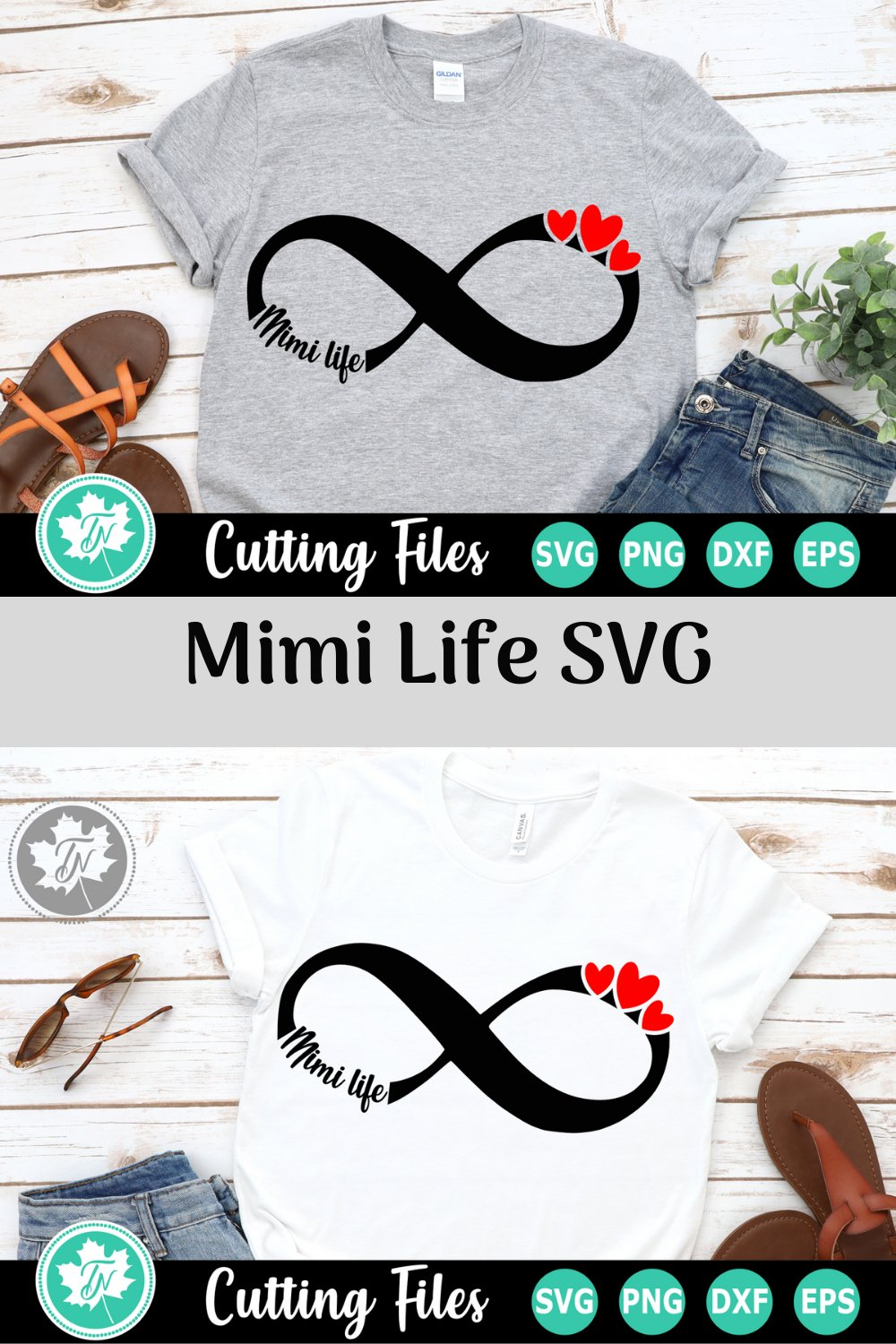 Download Infinity Love Mom Life - A family SVG Cut File