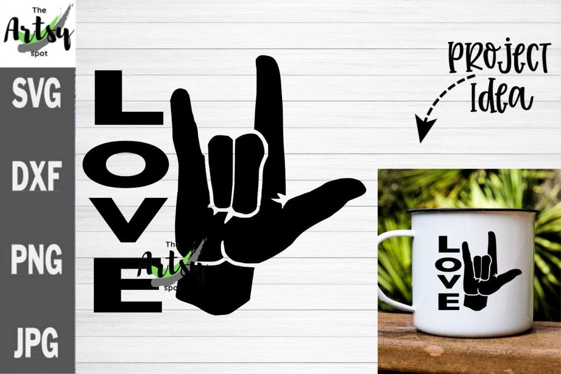 Download I love you sign language SVG, ASL I love you svg, Love svg ...
