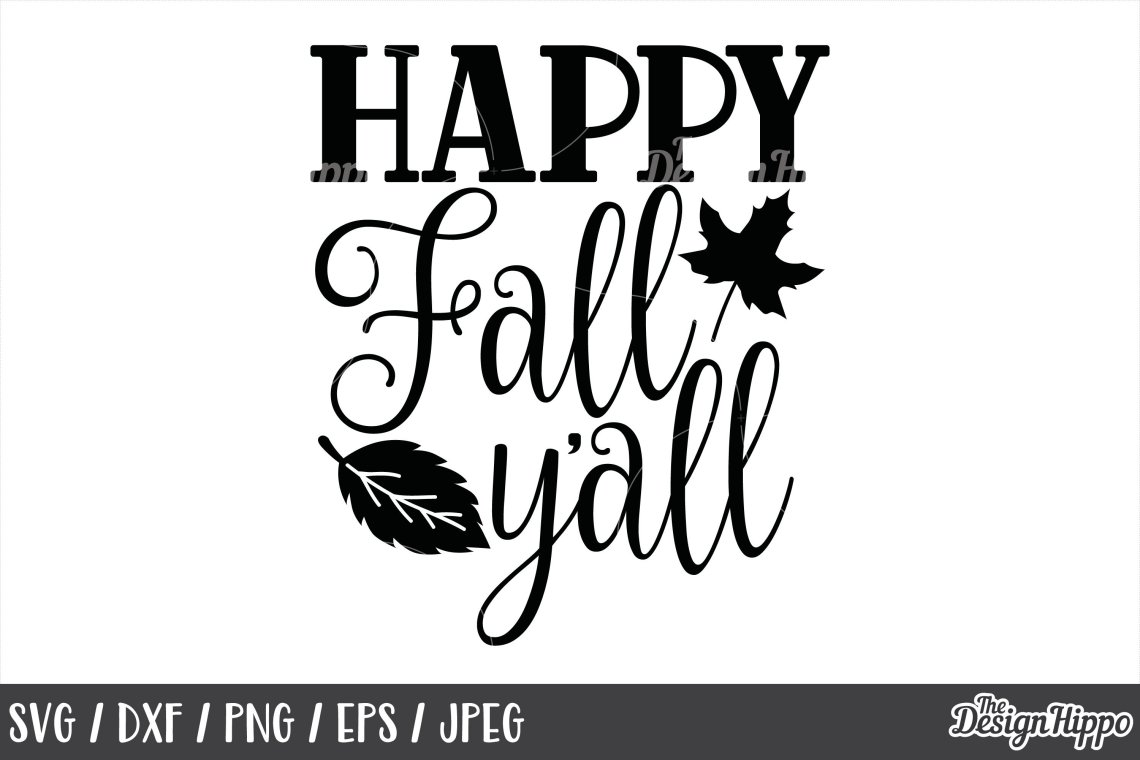 Download Fall, SVG, Happy Fall Y'all, Fall Y'all, Autumn, I Love ...