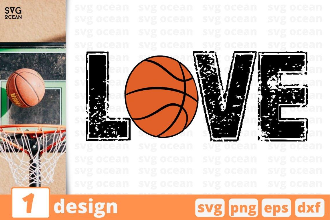 Download BASKETBALL LOVE SVG CUT FILE   Basketball cricut (719268 ...