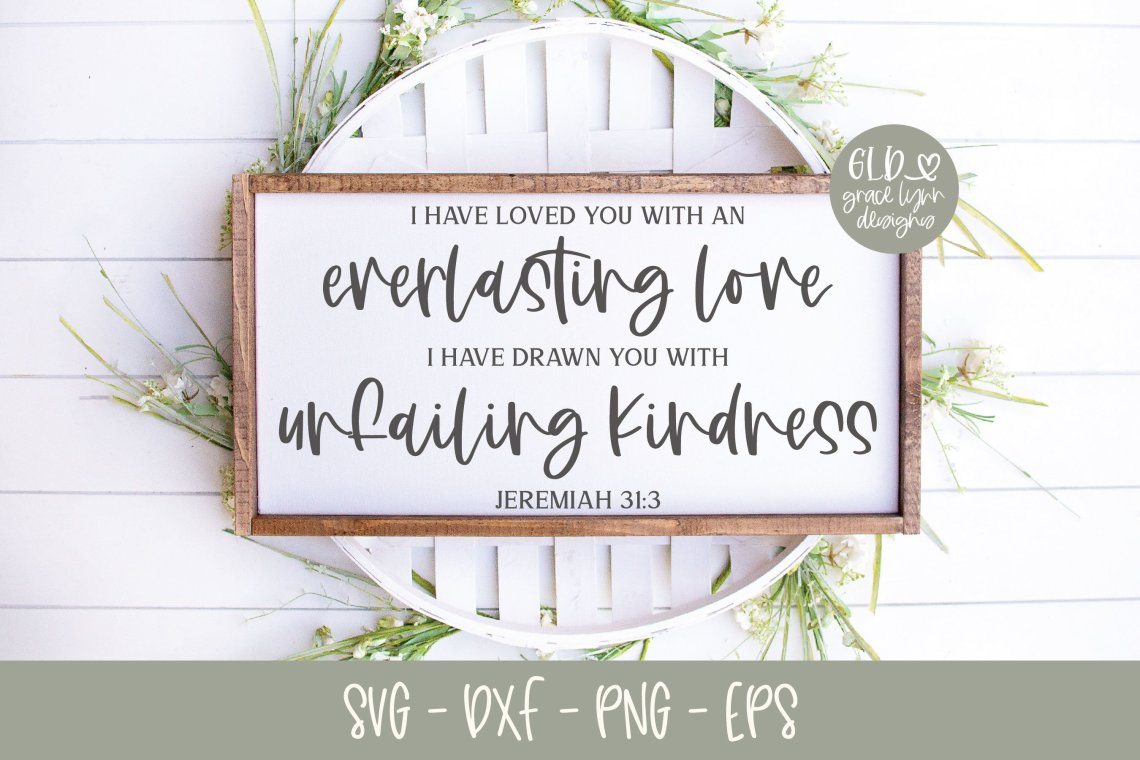 Download I Have Loved You With An Everlasting Love - Scripture SVG ...