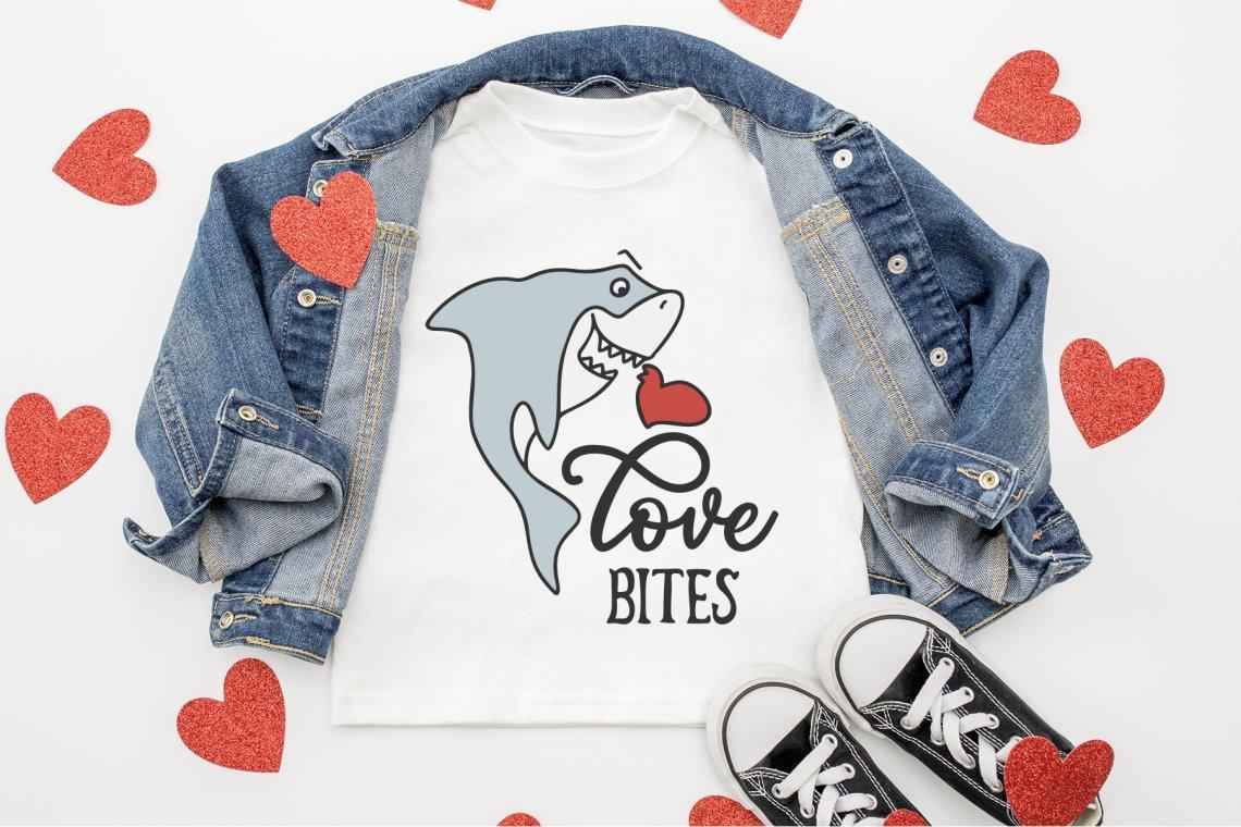 Download Cute Shark SVG | Love Bites SVG Cut File