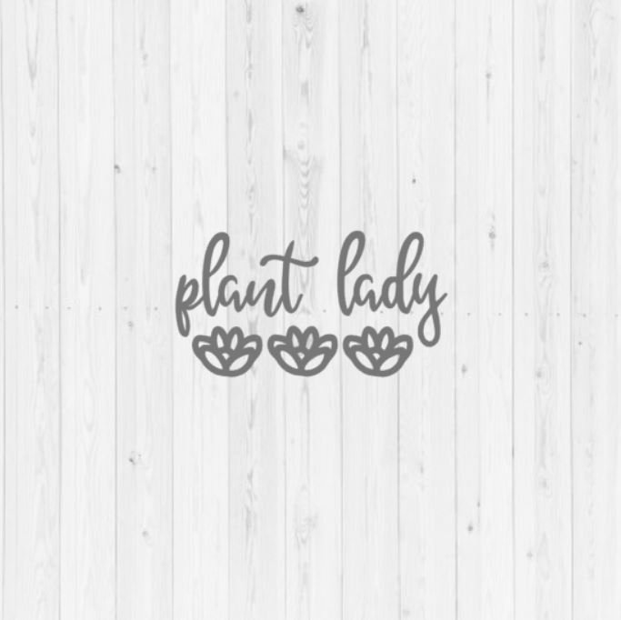 Download Plant lady, digital download, instant download, quotes ...
