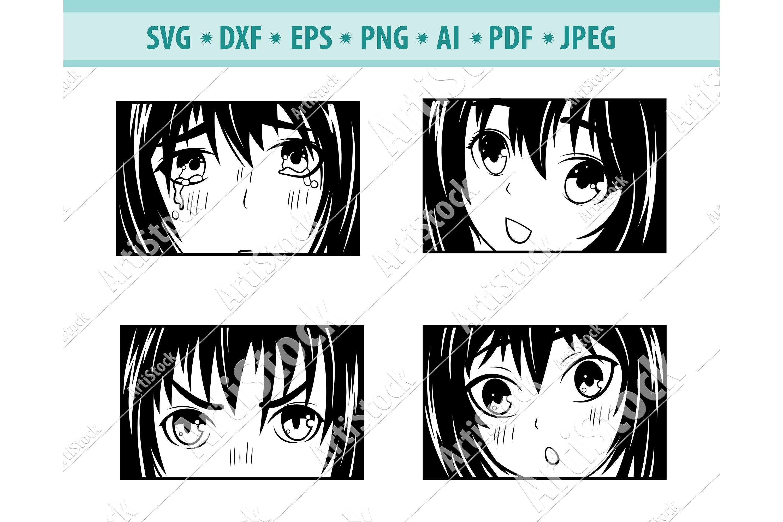 For more ideas see patterns, monograms, and custom designs. Anime Svg Bundle Anime Girl Svg Cartoon Girl Eps Dxf Png 1096930 Cut Files Design Bundles