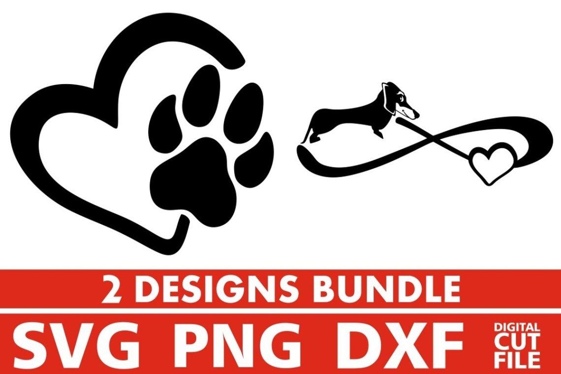 Download 2x Love Dachshund Bundle svg, Dog Breed svg, Infinity svg ...
