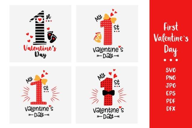 First Valentine's Day Craft idea