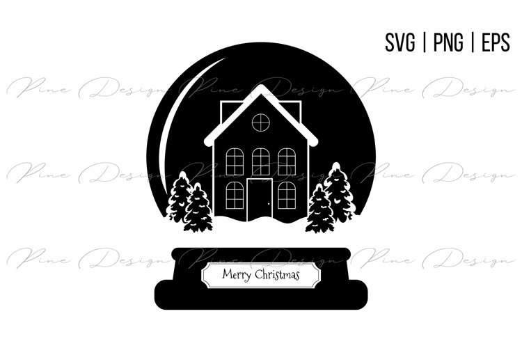 Click here and download the hand lettered christmas snow globe svg graphic · window, mac, linux · last updated 2021 · commercial licence included. Snow Globe Svg Christmas Svg 1060759 Illustrations Design Bundles