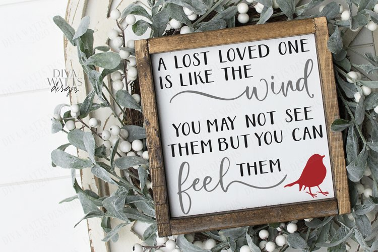 Download A Lost Loved One Is Like The Wind - Grief Loss Cardinal ...