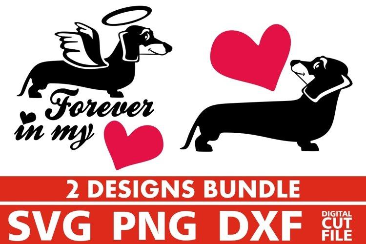 Download 2x Love Dachshund Bundle svg, Dog Breed svg, Dog Paw svg ...