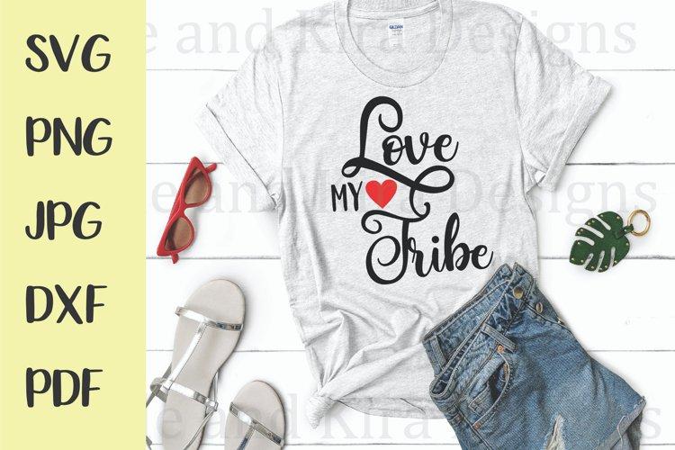 Download Love My Tribe SVG Design (436462)   SVGs   Design Bundles
