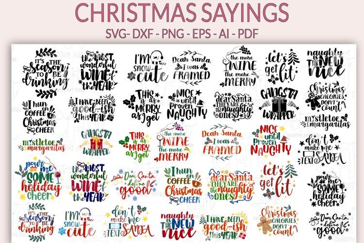 1495 Christmas Sayings Svg Files