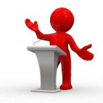 Art of Public Speaking from August 8, 2012