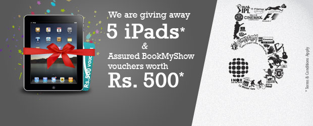 Book my Show Contest - Win an iPad