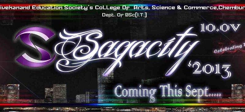 Sagacity 2013 - Technical Festival in Mumbai from September 6-7, 2013