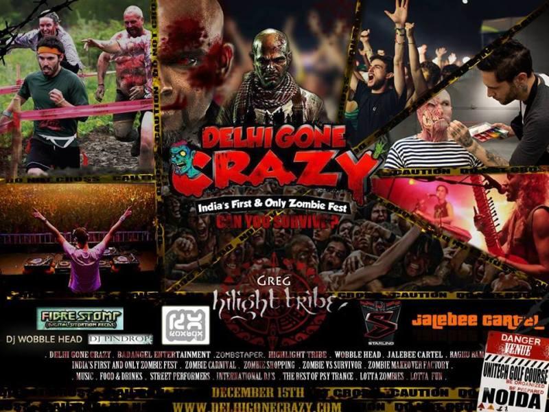 DelhiGoneCrazy – India's First & Only Zombie Fest on December 15, 2013 in New Delhi