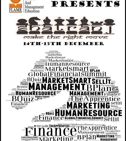 Shatranj 2013 - Management Fest in Maharashtra from December 14-15, 2013